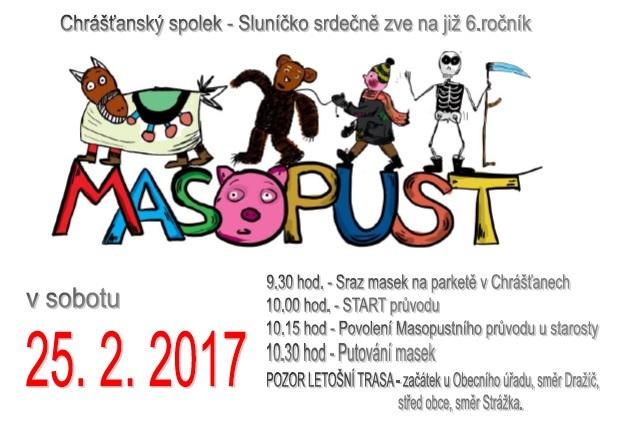 Masopust 2017 v Chrášťanech
