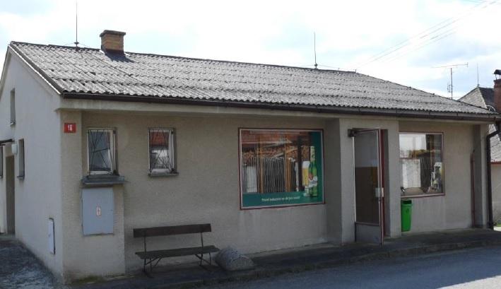 Oživení prodejny v Doubravce 2017