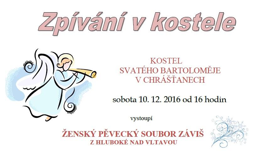 Zpívání v kostele 10.12.
