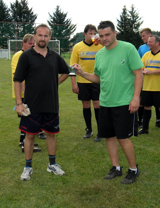 Pouťový fotbal 25.8.2012