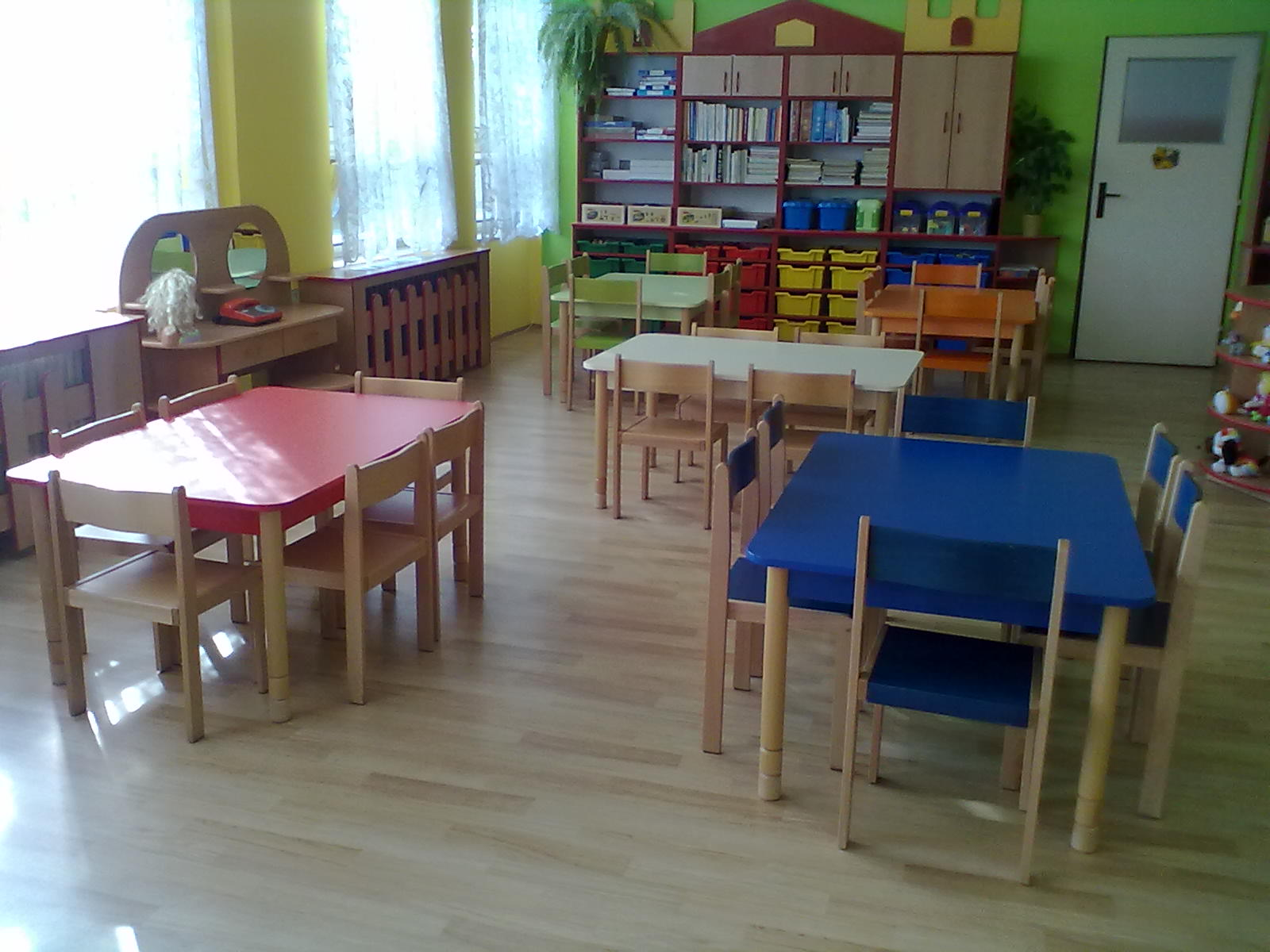 Školka v novém