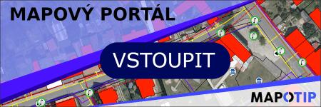 Úvodní stránka - Mapová aplikace