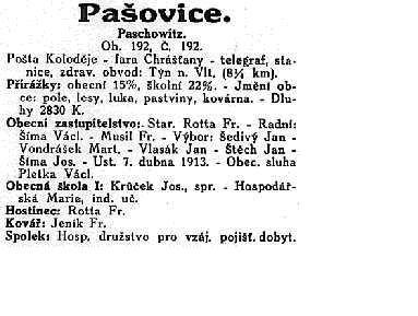 Paaovice - historie