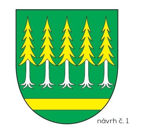 Znak obce Chrášťany - návrh